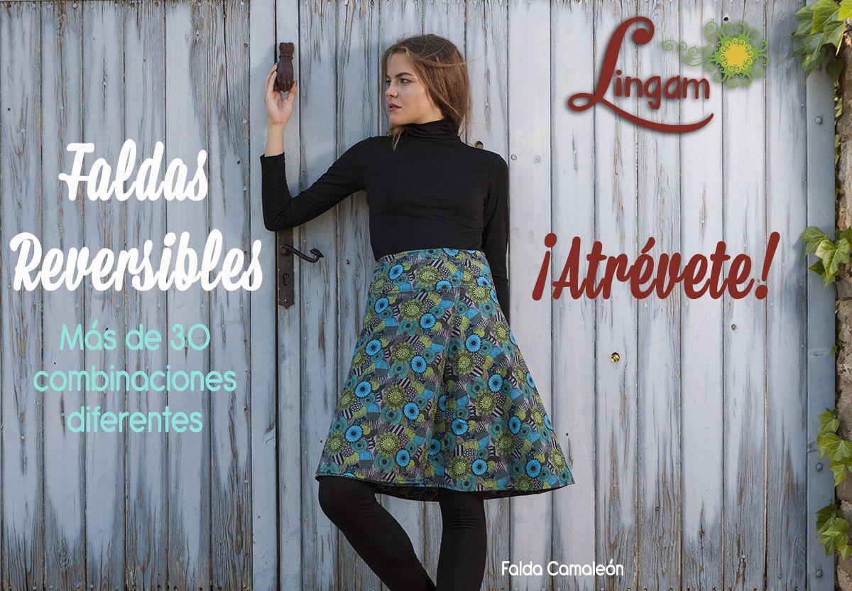 a33dfbdd0  faldas  skirts  jupes  reversible  moda  lingambcn  estampados  fashion