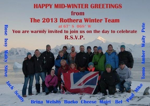 It's a short day in Antarctica that's long on celebration