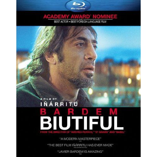Amazon.com: Biutiful [Blu-ray]: Javier Bardem, Maricel Álvarez, Alejandro González Iñárritu