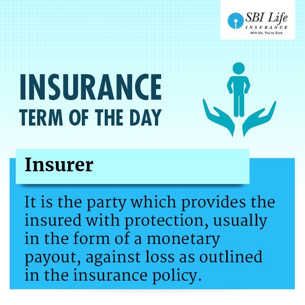 Insurance Term Of The Day Insurer Life Insurance Policy Day Term