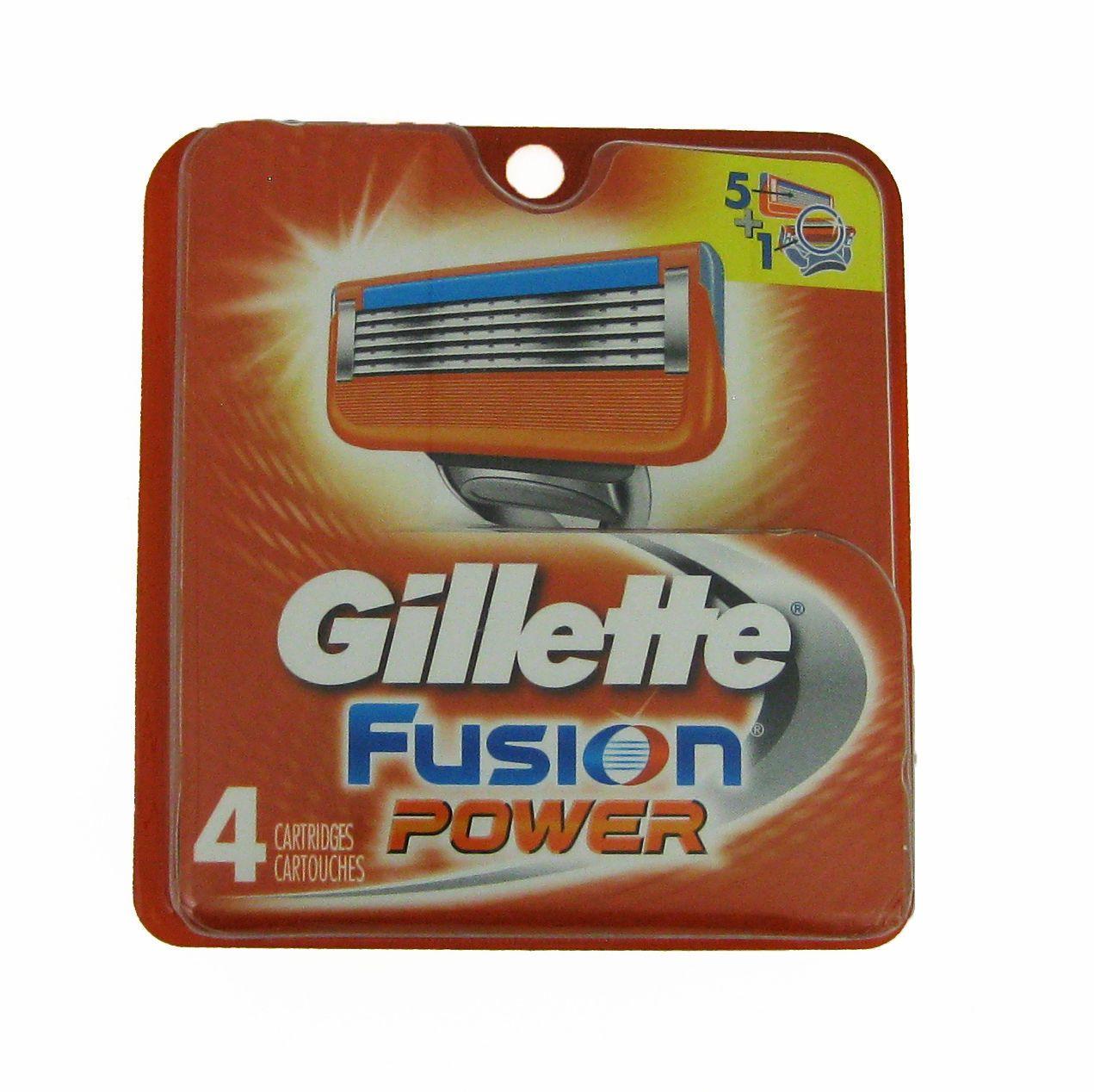 Gillette Fusion Power Razor Blades Gillette fusion