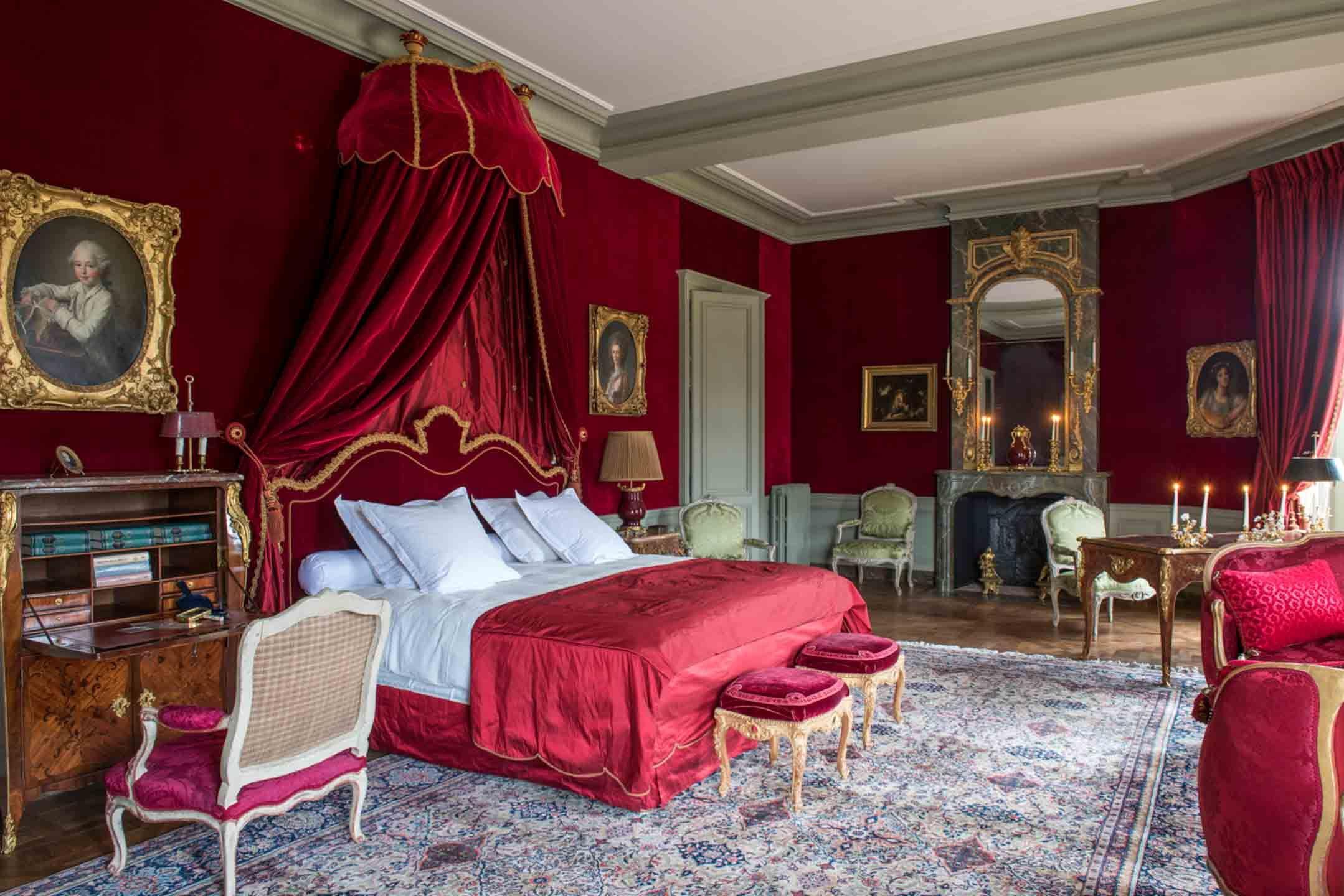 Chateau De Villette Chambre De Chateau Decoration Interieure Deco Maison