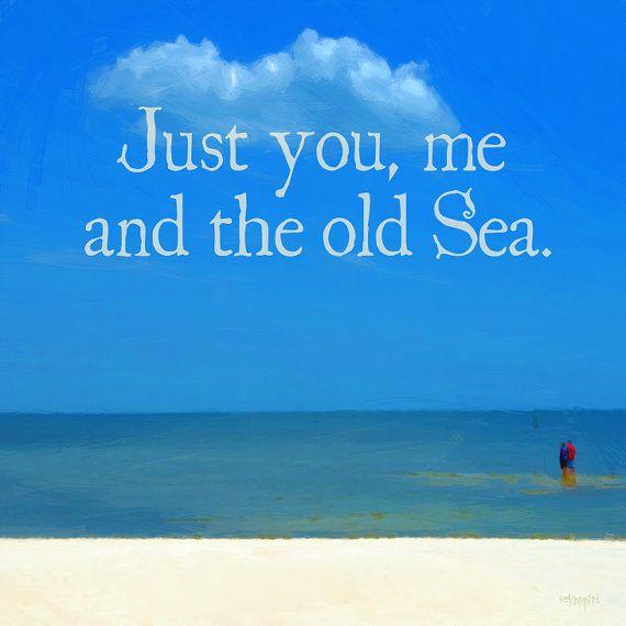 Romantic Sea Quote Beach Ocean Seashore Coastal Word Art