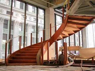 Brakewell Steel Fabricators : Curved Stairs
