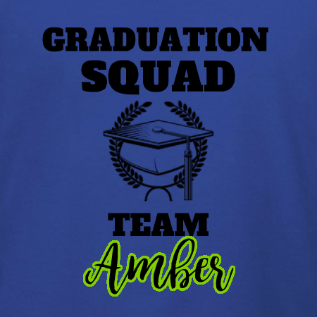 569979a8 Graduation Shirt for Family Team t-shirt template. Edit for your graduates  name. Change ink colors and t-shirt products online. Free 10-day delivery  in the ...