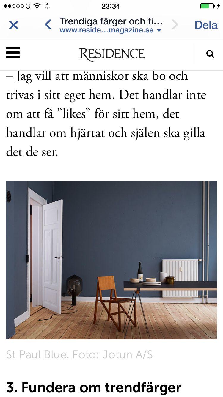 Blå/grå