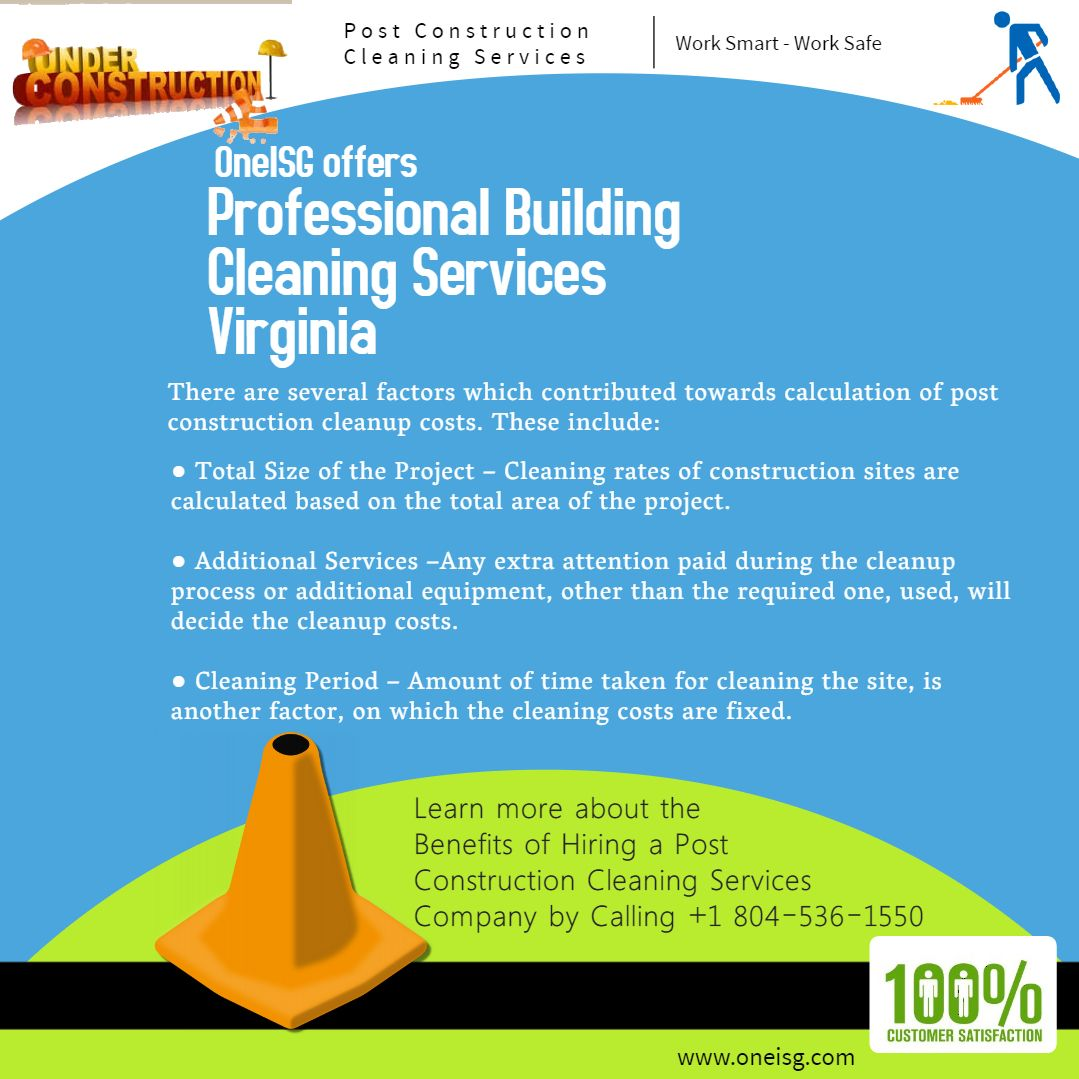 Oneisg Offers Professional Building Cleaning Services Virginia