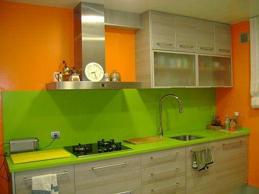 Blanco y verde pistacho decorar tu casa es facilisimo for Decoracion facilisimo cocinas