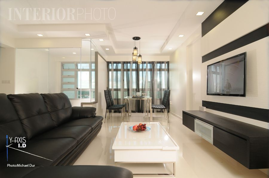 Singapore Interior Design Simple And Nice Minimalist Hdb