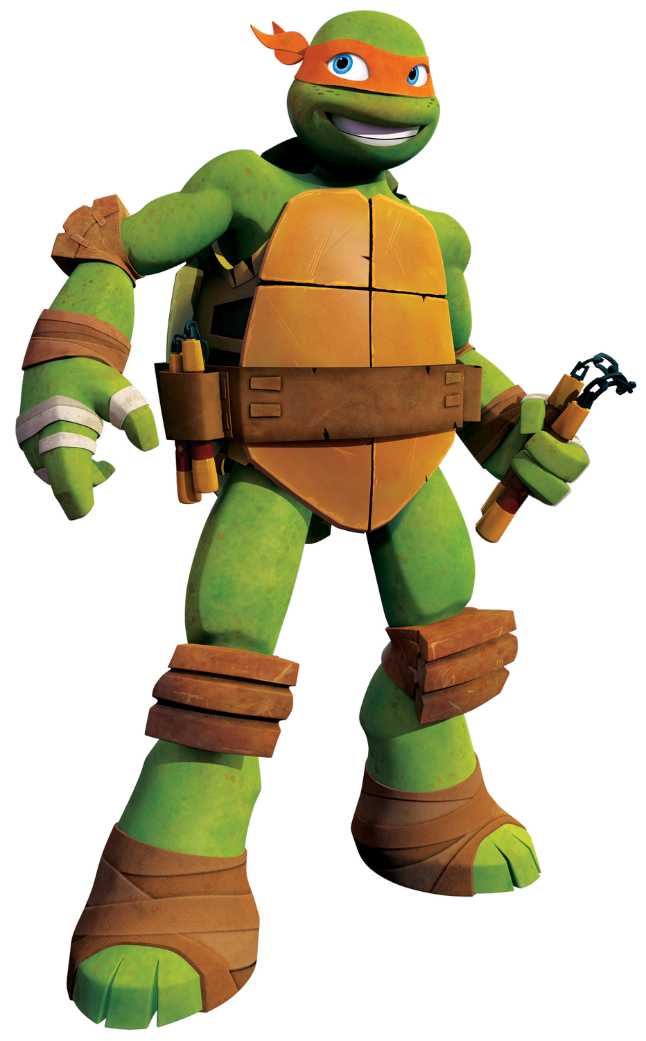 Ninja Tutle Michelangelo Png Image Teenage Ninja Turtles