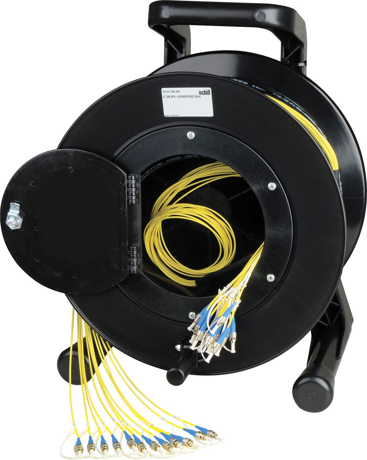 oil terminal skid mounted refueling device volinco e camplex 4 channel fiber optic tactical reels st or lc connectors extremely