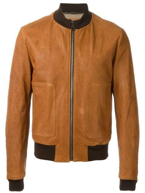 ee16fe8fd DOLCE & GABBANA Leather Bomber Jacket. #dolcegabbana #cloth #jacket ...