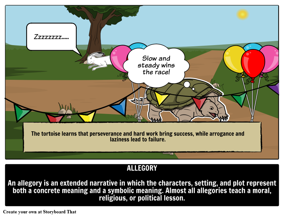 Define Allegory Is One Of The More Challenging Literary Terms Find Allegorical Definition Examples Of Allegory In L Literary Terms Literature English Writing