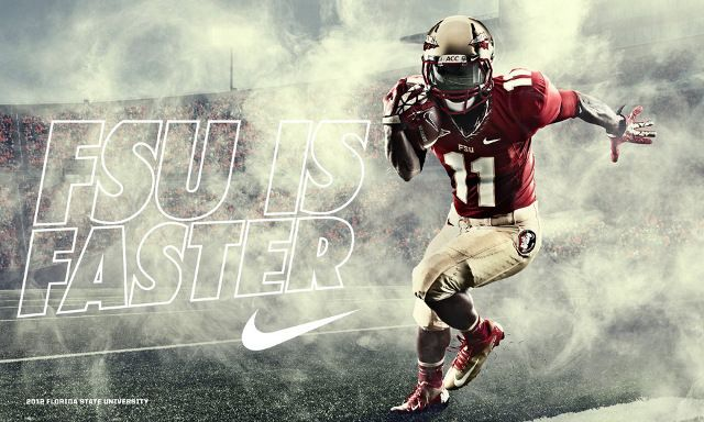 Nike Pro Combat Florida State University Football Uniforms 2 Fsu Football Florida State Football Florida State Seminoles Football