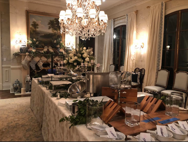 Recap on my Christmas party! - The Enchanted Home   Fancy living rooms. Enchanted home. Elegant christmas party