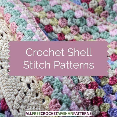 29 Crochet Shell Stitch Patterns Crochet Shell Stitch Shell And