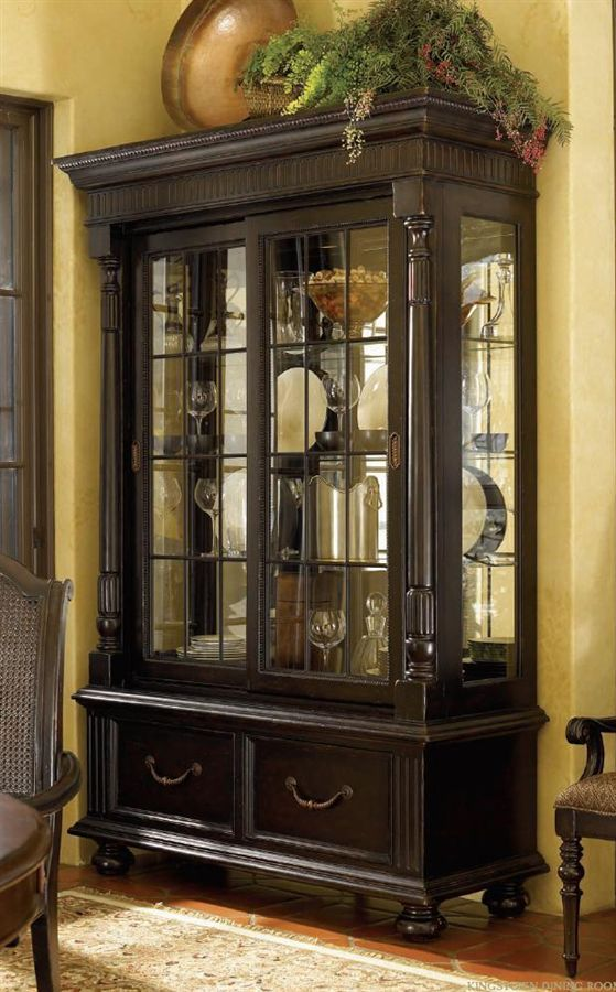 Tommy Bahama Kingstown Point Reyes Display Cabinet British