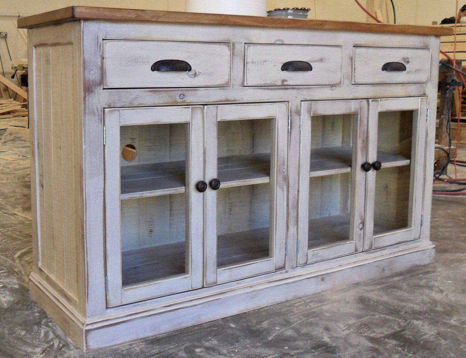 Media Console Entertainment Center Tv Stand Console Etsy Chic Home Decor Shabby Chic Kitchen Shabby Chic Bathroom