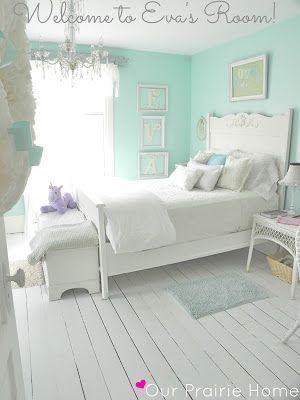 Diy Forty Dollar Shabby Chic Room Makeover I Love Everything Wall