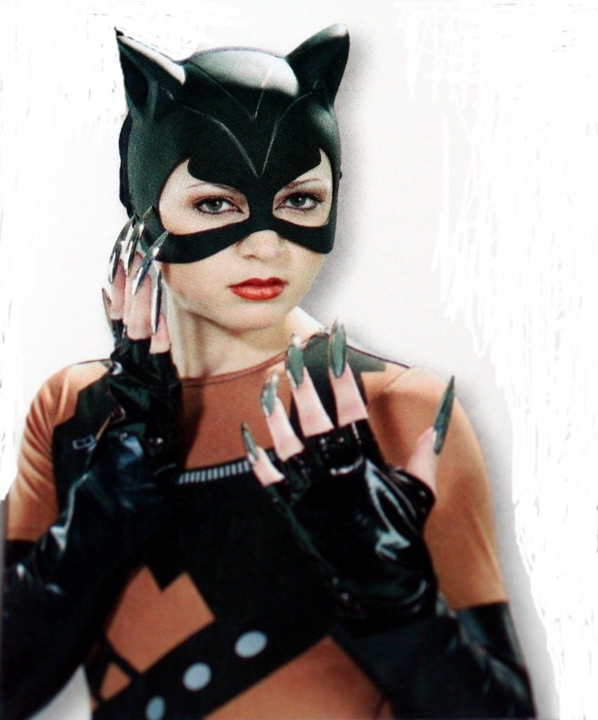 Catwoman Mask and Gloves | Cat Woman CATMASK CAT HALF MASK GLOVES ...