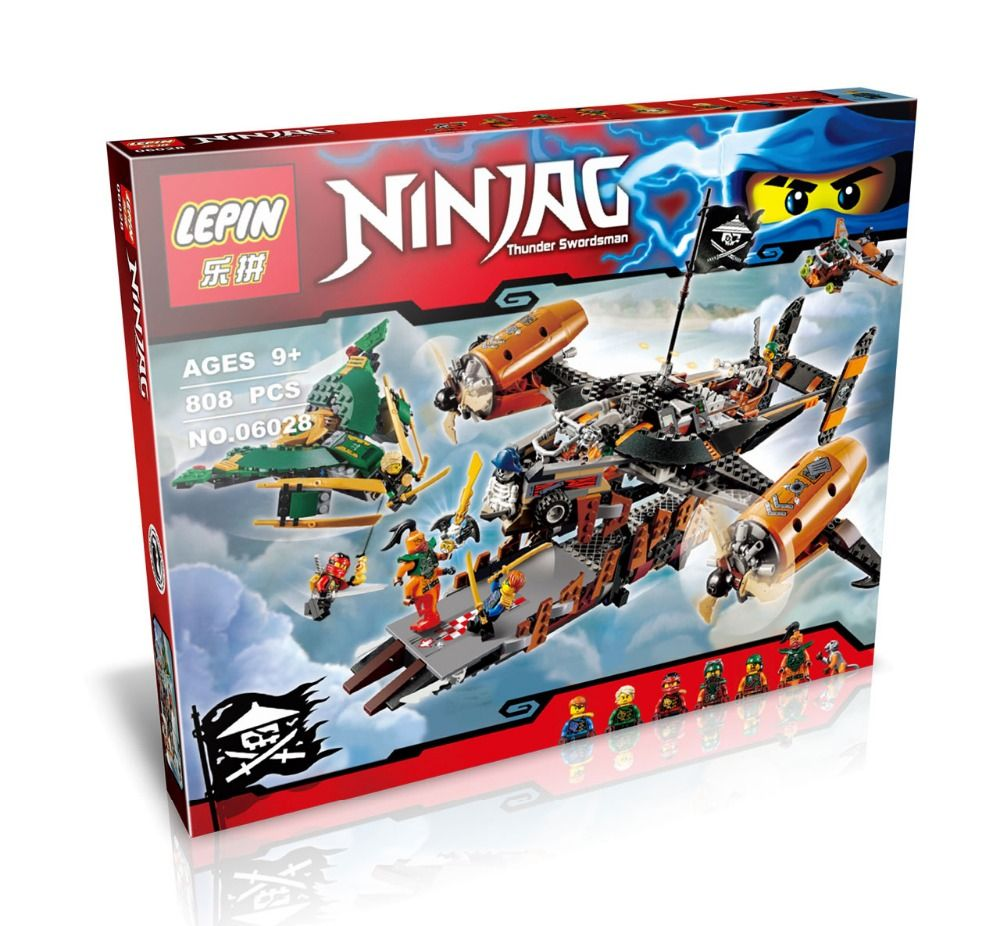 LEPIN 06028 Misfortune Keep Spinjitzu Masters Minifigure