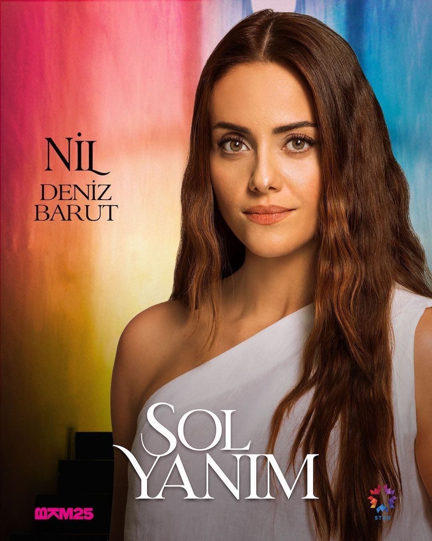 My Left Side Sol Yanim Tv Series Turkish Drama In 2021 Tv Series Sole Actresses
