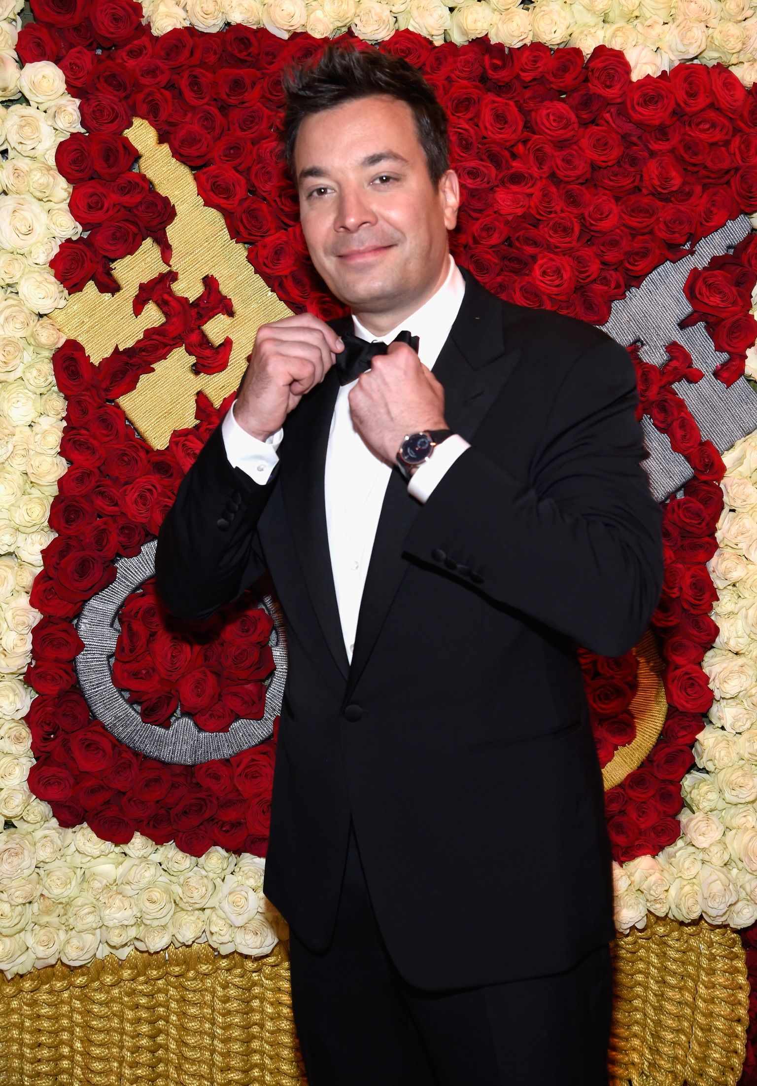 Jimmy Fallon Wearing Ralph Lauren Purple Label At The Met Gala