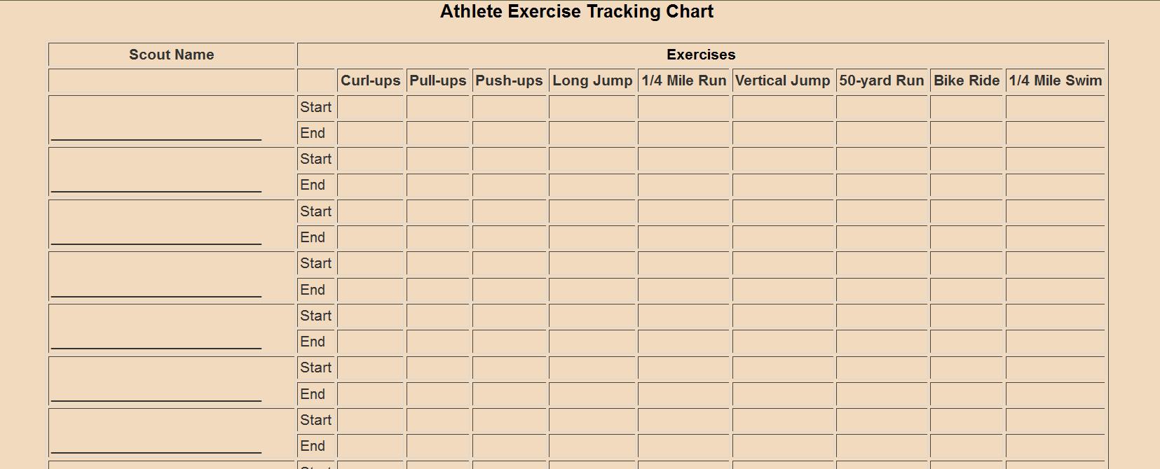 Uncategorized. Webelos Athlete Worksheet. klimttreeoflife Resume Site