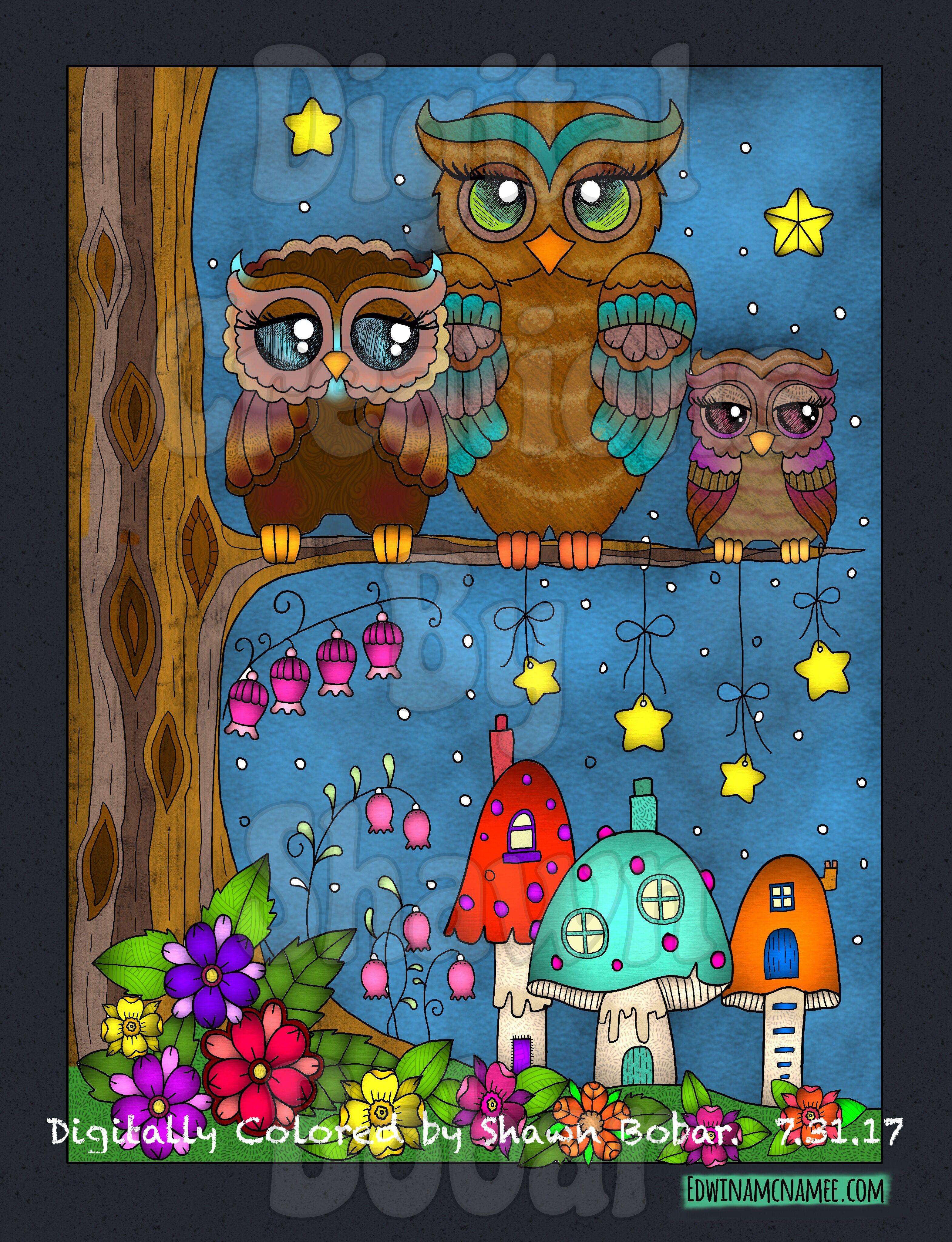 Artist Ebony Rainn Digital Creations By Shawn Bobar Digitally Colored Using Pigment IPad Pro