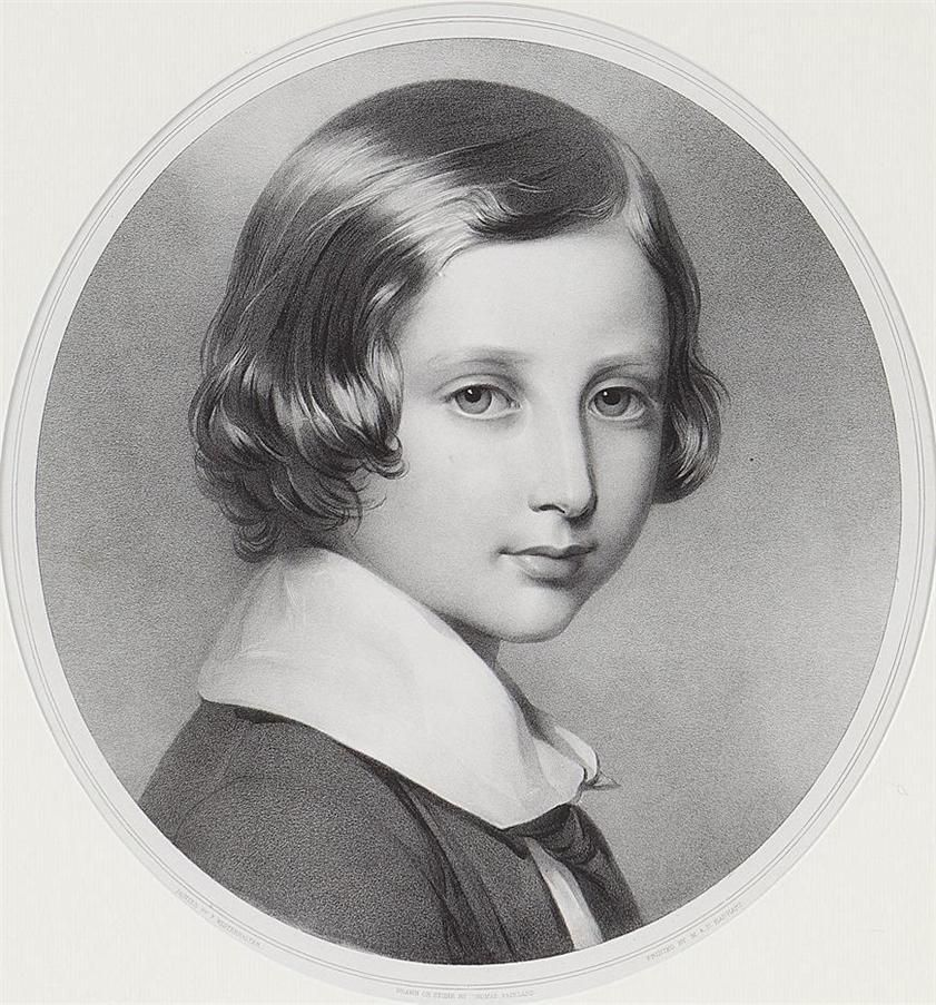 Young child Edward VII (Albert Edward) (1841-1910) Prince ...