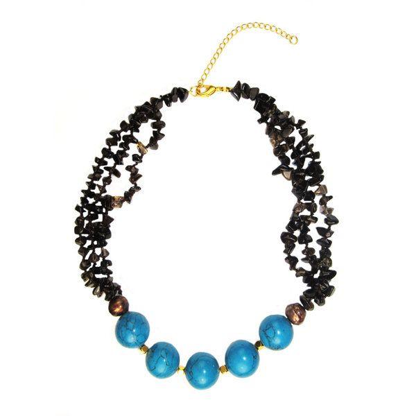 Pearl Lustre Gemstone Necklace