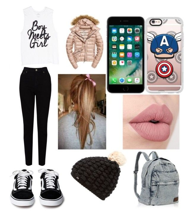 """""""Gabby's Plane Outfit"""" by liam4ever-937 ❤ liked on Polyvore featuring Fuji, EAST, Superdry and Casetify"""
