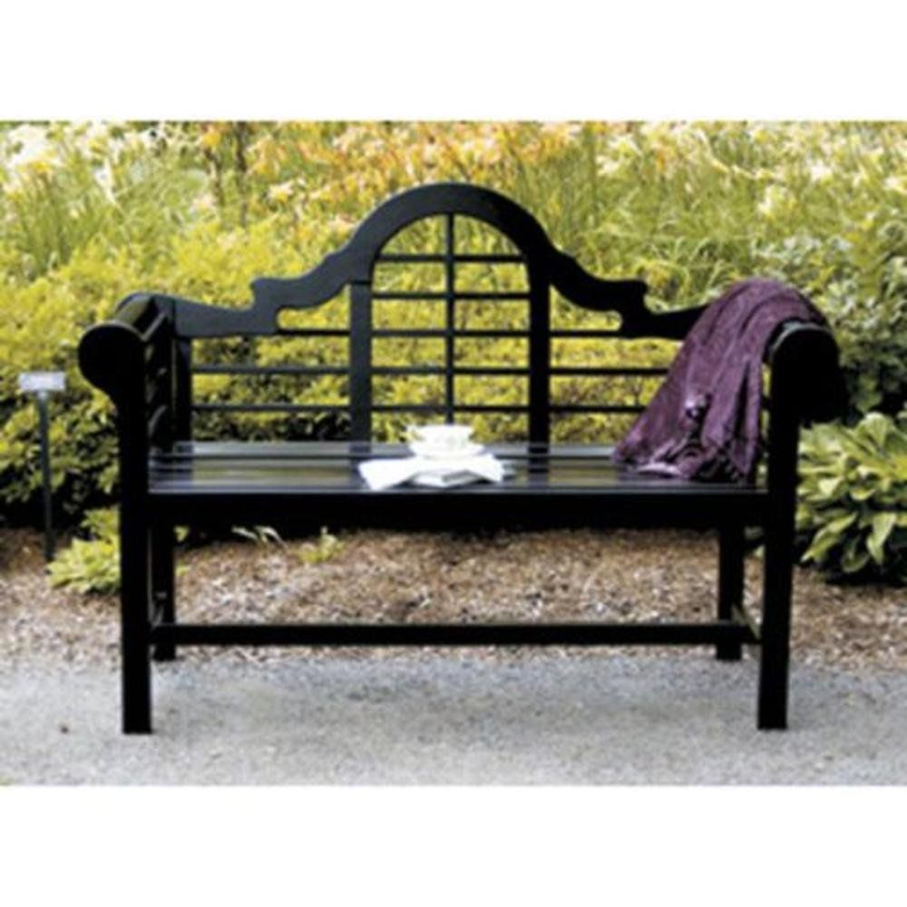 Unusual Achla Designs Ofb 11 4 Inch Lutyens Bench Black Amazon