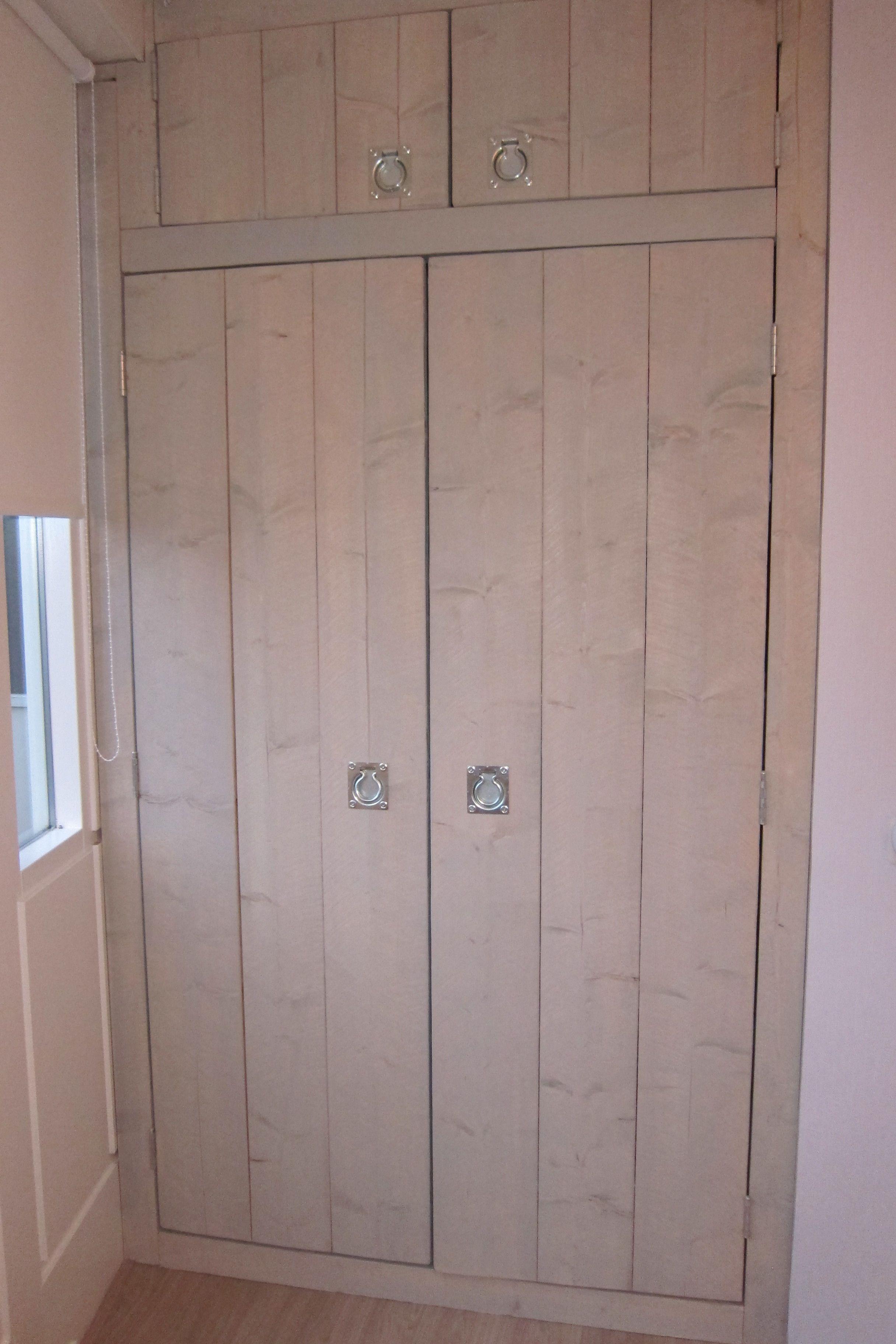 Mooie Kastdeuren Voor Een Inbouwkast Home Decor Hout
