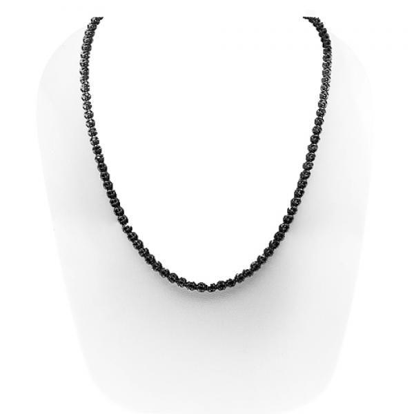 10k Gold Black Rhodium Mens Black Diamond Tennis Chain 14 80 Ctw Diamond Chains For Men Black Rhodium Black Diamond