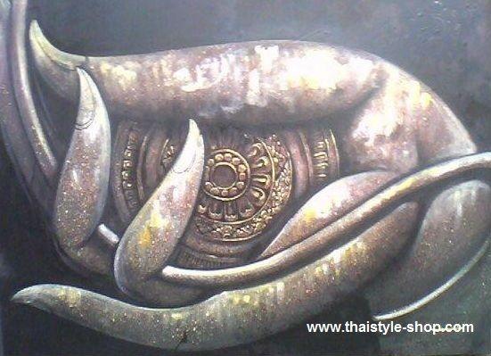 Painting hand art : thaistyle-shop.com