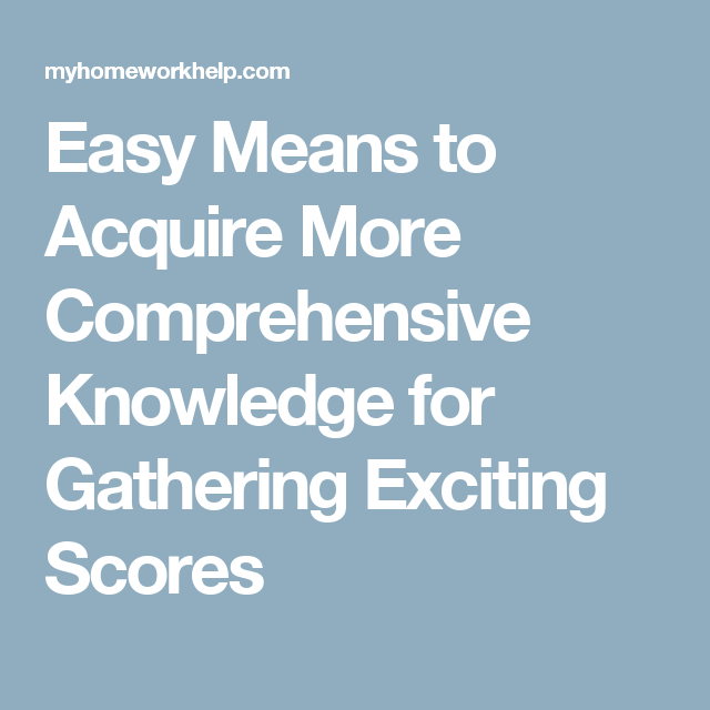 Easy More Comprehensive