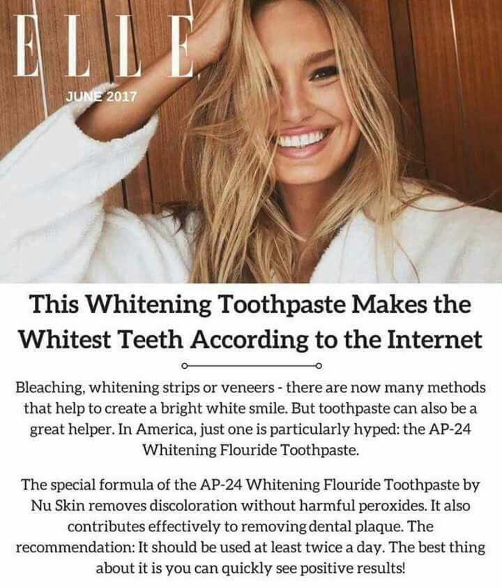3c2bfbd99d8 My favorite whitening toothpaste was featured in Elle magazine Anti Aging  Skin Care, Teeth Whitening