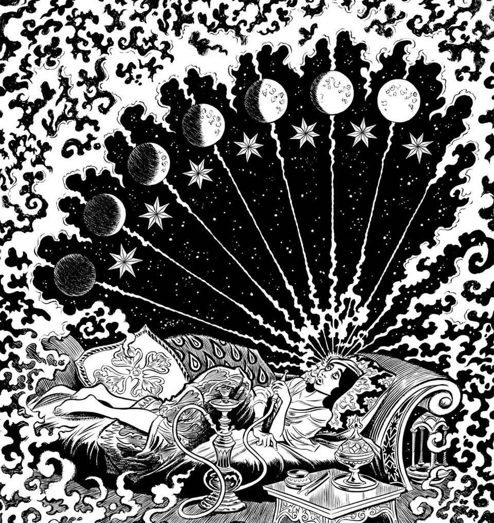 Habibi, Craig Thompson, Quadrinhos da Cia