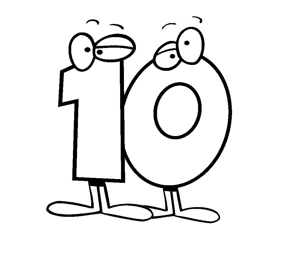 Free Printable Number Coloring Pages For Kids Coloring Pages For
