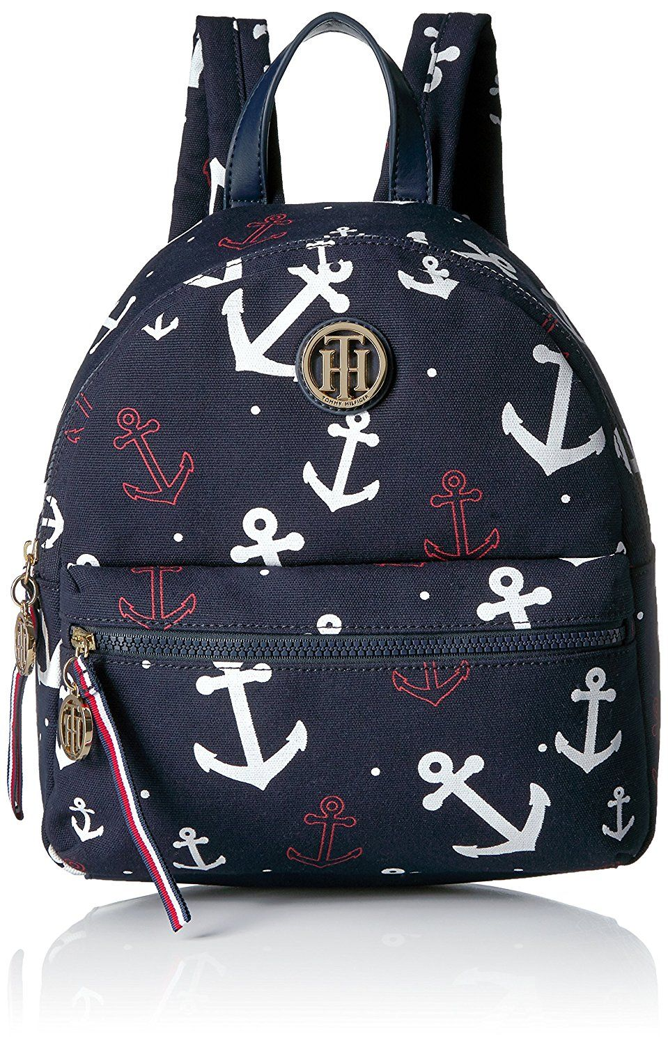 bfbaf38e14e Tommy Hilfiger Women s Th Falling Anchors Dome Backpack    You can find  more details by visiting the image link. (This is an affiliate link)   Bagpacks