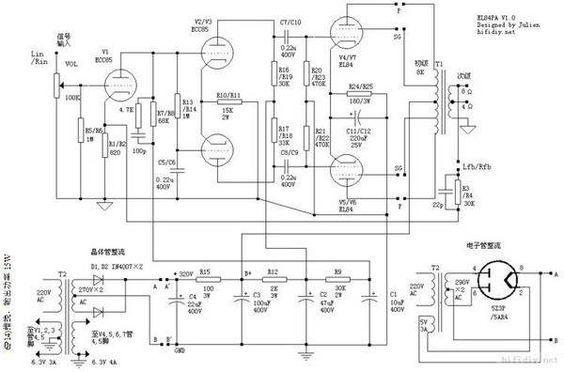pin by mark still on amp schematics