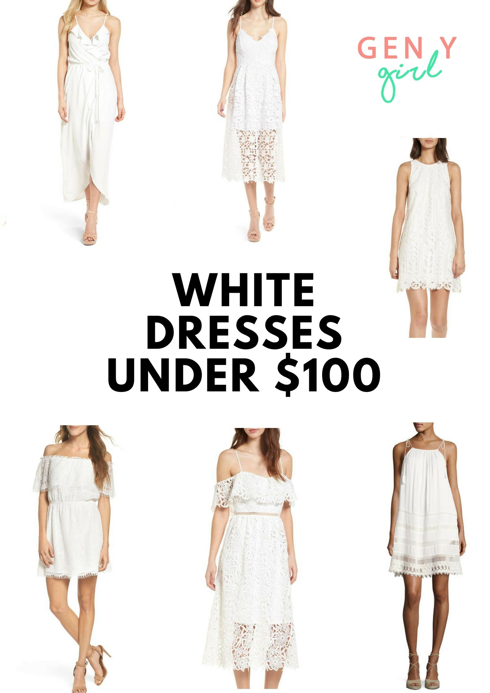 7fc0e9adf6d Sharing my favorite cute white dresses under  100 that are perfect for  spring and summer!