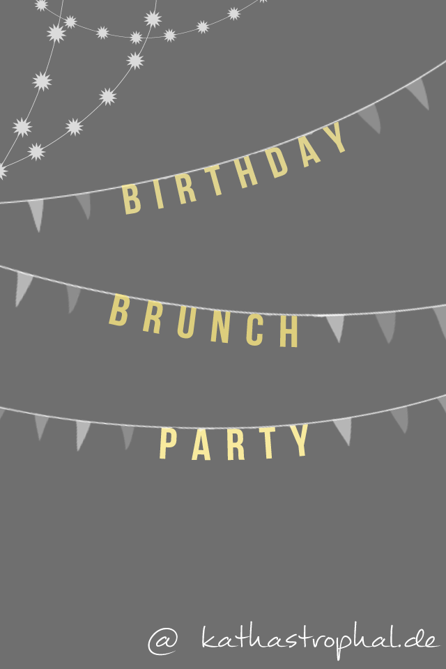Birthday Brunch Party