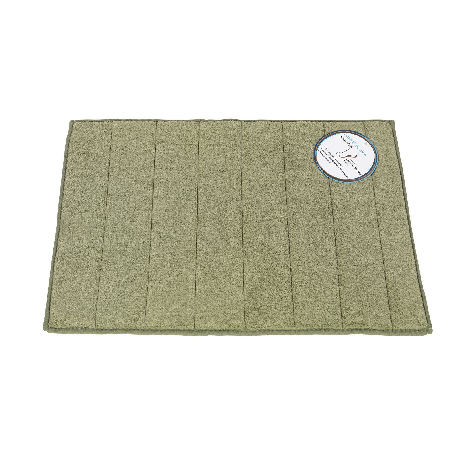 Carnation Home Fashions Luxury Memory Foam Bath Mat Memory Foam
