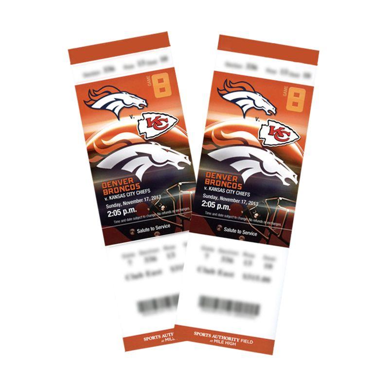 Denver Broncos Schedule: #KCvsDEN Tickets, Week 10