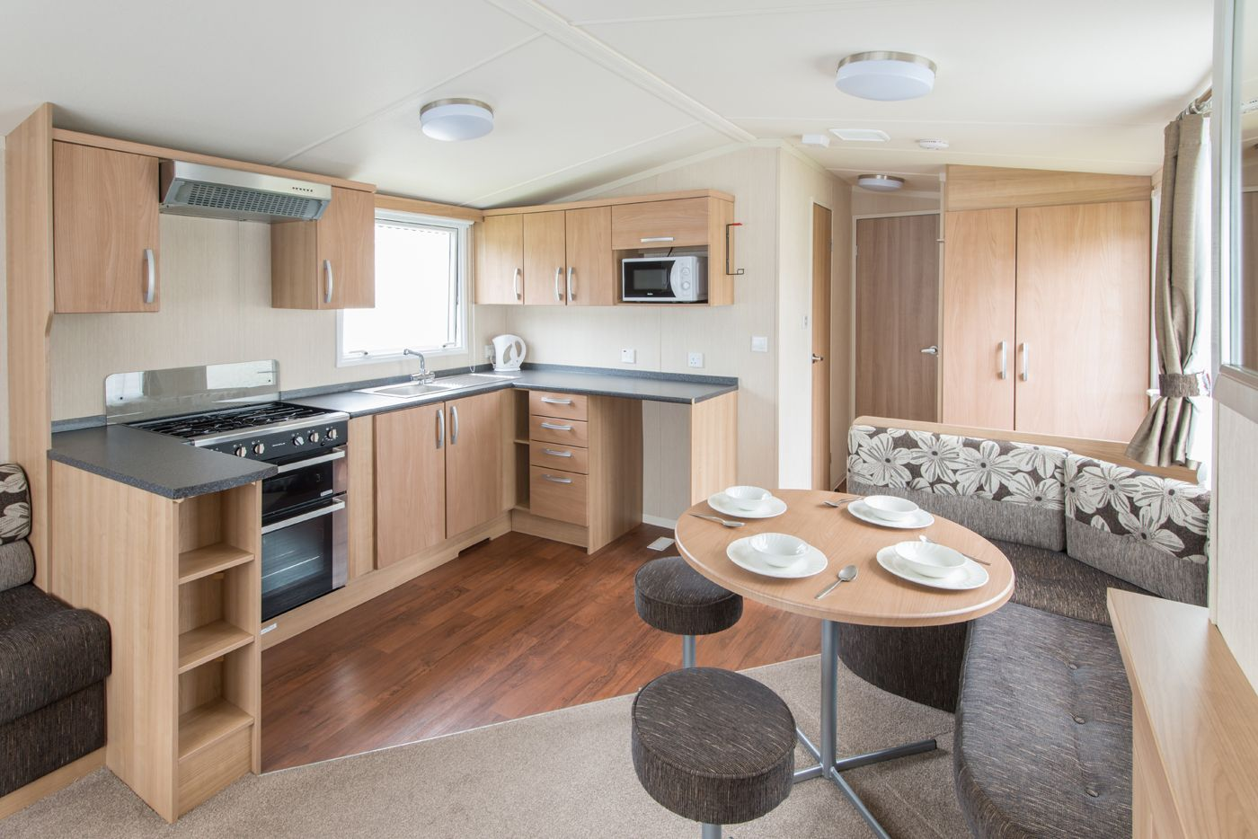 A home away from home. Inside our Static Caravans at River