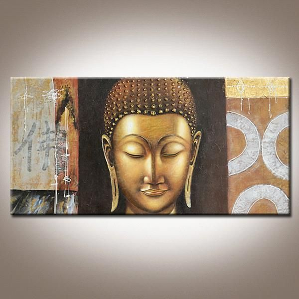 Buddha Oil Painting On Canvas 3d Effect K 005 China Buddha Painting Wei Zhen Buddha Painting Buddha Canvas Buddhism Art