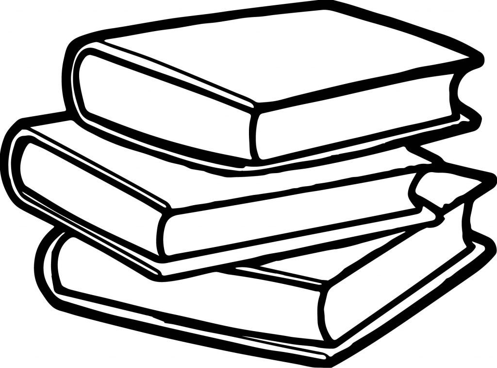 Books Coloring Pages Best Coloring Pages For Kids Book Clip Art Coloring Pages Black And White Books