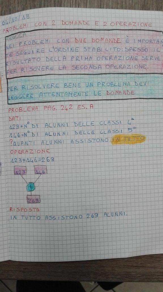 Problemi-Matematica in quarta- ottobre   Matematica ...